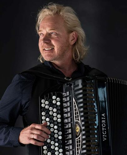 Akkordeonist Vassily Dück