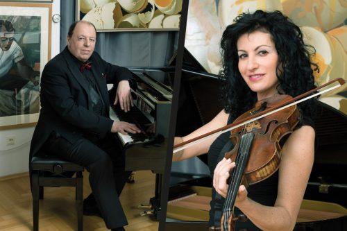 Duo Bernstein Ana Agre und Alexander Kleonov