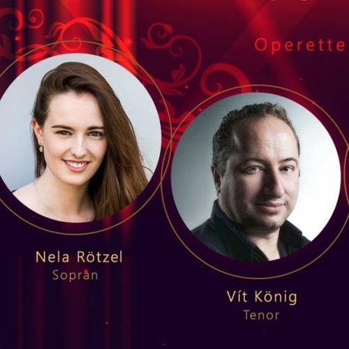 Sopran Sängerin Nela und Tenor Vit