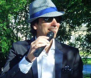 Italienischer Sänger Claudio