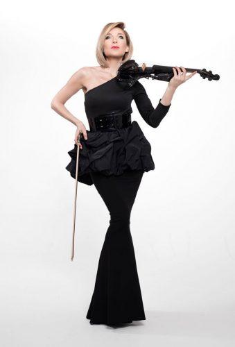 E-Geige-Show